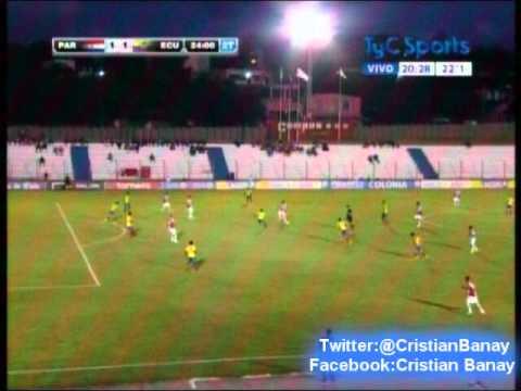Paraguay 1 Ecuador 2 (Radio Caravana) Sudamericano Sub 20 2015 Los goles