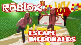 HOW TO ESCAPE FROM MCDONALDS!! Roblox