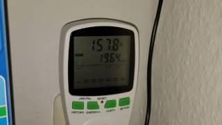 Stromverbrauch meines 240l Aquarium, insbesondere der Heizung senken.
