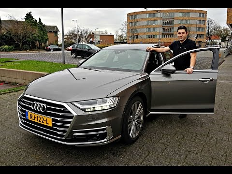 The New Audi A8 55 TFSI 2018   The Most Hightech Car Ever?