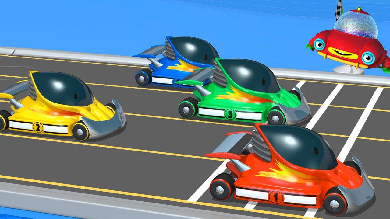 TuTiTu гоночные машины - YouTube