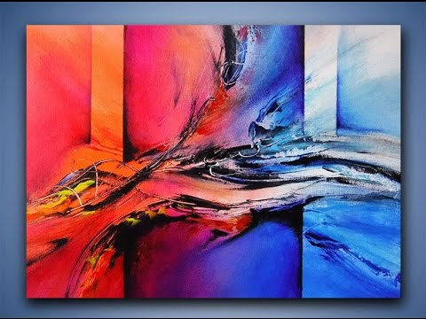 Image Result For Acrylic Painting Techniques Abstract Art