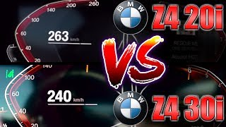 0-250 km/h | BMW Z4 20i vs Z4 …