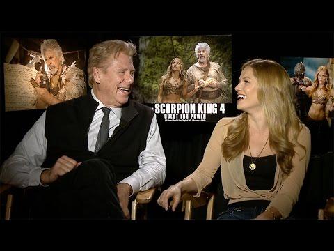 Barry Bostwick & Ellen Hollman Interview: The Scorpion King 4: Quest for Power