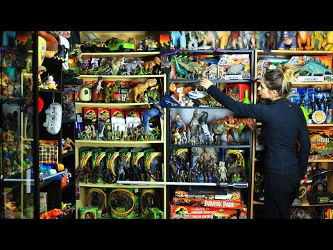 Babe Cave Room Tour 2019: How I display my collectible toys