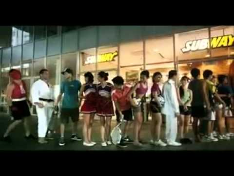 Subway Fresh Fit TV commercial (Singapore) - Composer: Ken Chong