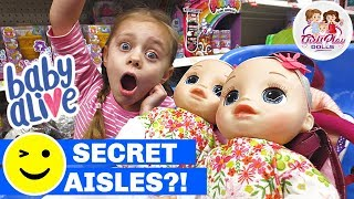 🛍Baby Alive FOSTER TWINS 1st Outing to WAL-MART!! 👶🏼👶🏼 Real As Can Be's Secret Shopping Trip 🤭