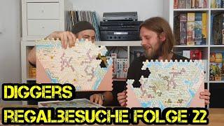 Regalbesuche - Digger bei Euch zu Gast - Folge 22 -  Alex - Boardgame Digger