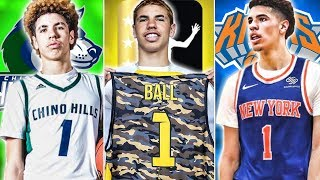 The History Of Lamelo Ball's Draft Stock | #1 Pick In The 2020 Draft?