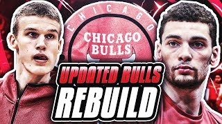 TRADING FOR THE 2017 #1 PICK! UPDATED BULLS REBUILD! NBA 2K18