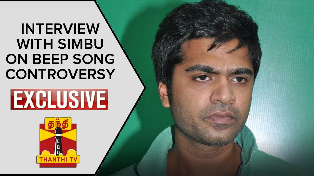 Exclusive Interview with Simbu About Beep Song Controve ...