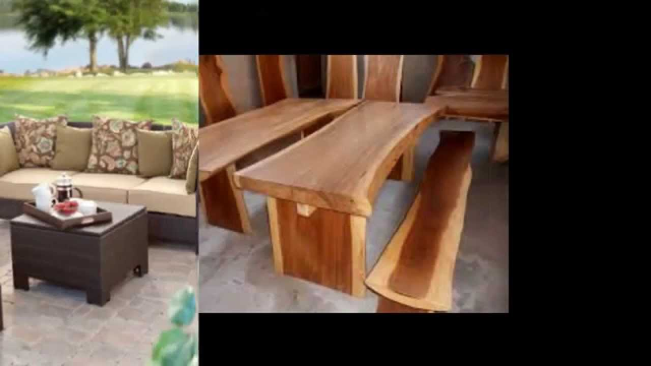 Balinese Outdoor Furniture - Balinese Outdoor Furniture - YouTube