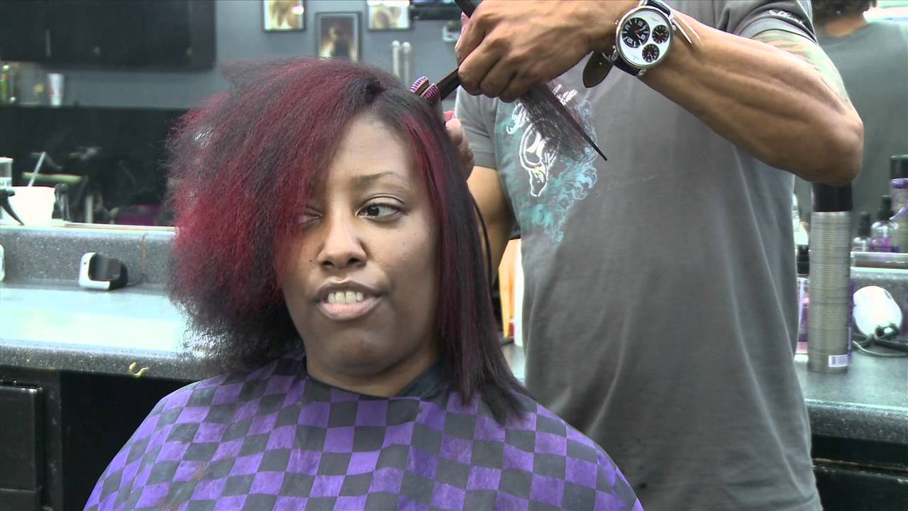 Pressing Oil For Natural Black Hair
