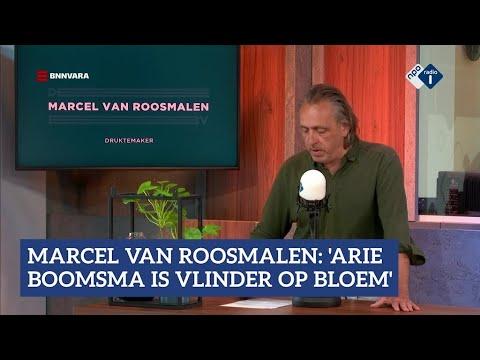 Marcel van Roosmalen over Arie Boomsma | NPO Radio 1