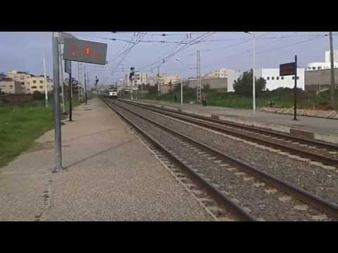 Train oncf maroc  temara