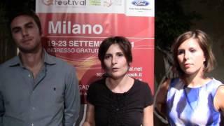 e-festival Milano, Rich social media: Alberto Chiapponi, Francesca Demola e Nadia Carta