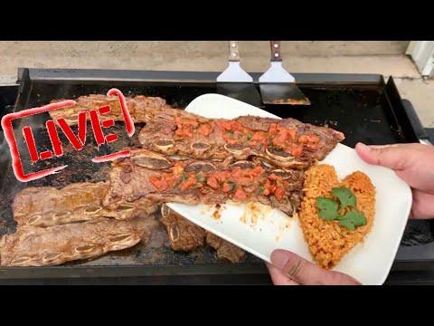 Blackstone Griddle Menu: Carne Asada Short Ribs With Homemade Tomato  Salsa