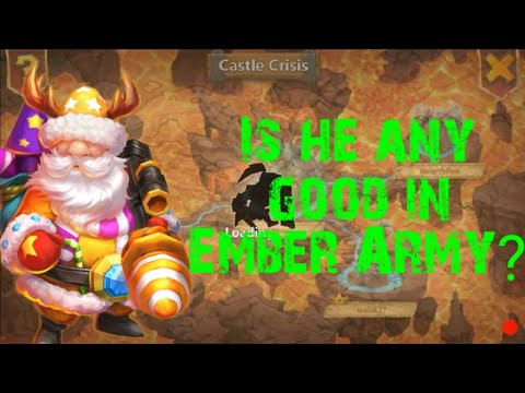 Castle Clash | Ember Army W/ Santa Boom | 648M Best Damage