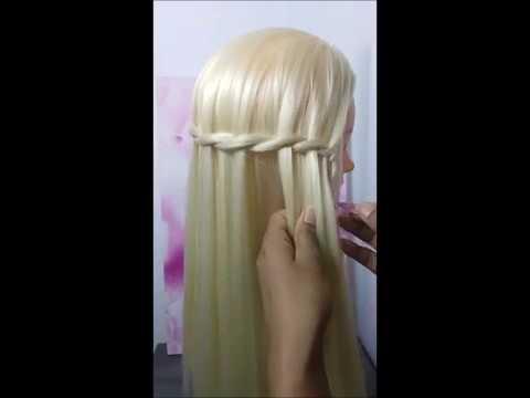 Schöne Frisuren Für Glatte Haare Zum Selber Machen Wasserfall
