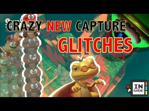 CRAZY CAPTURE GLITCHES!! - Super Mario Odyssey