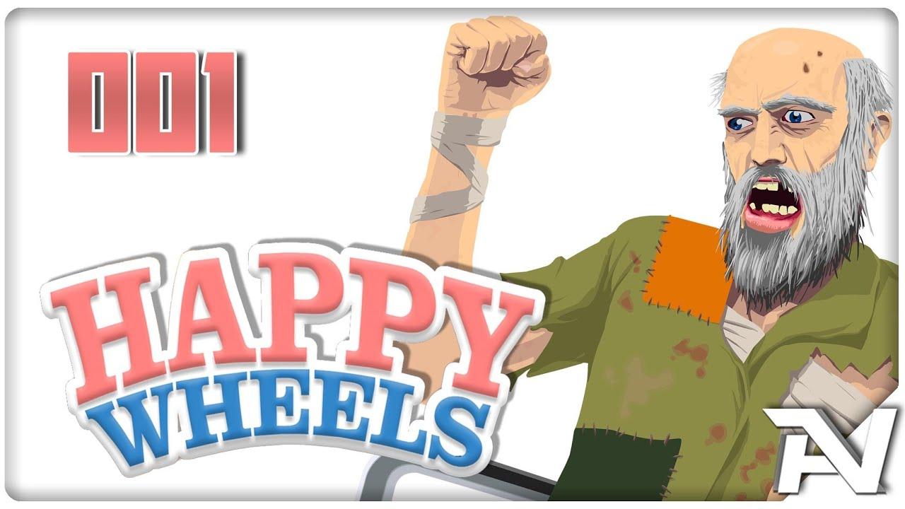 Das chaos beginnt let 39 play happy wheels 001 hd german - Let s play happy wheels ...
