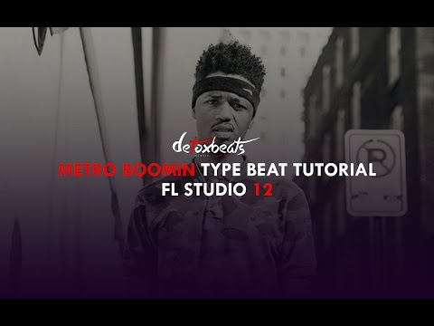 FL Studio 12 - Metro Boomin Type Beat Tutorial (DOWNLOAD FULL PROJECT)