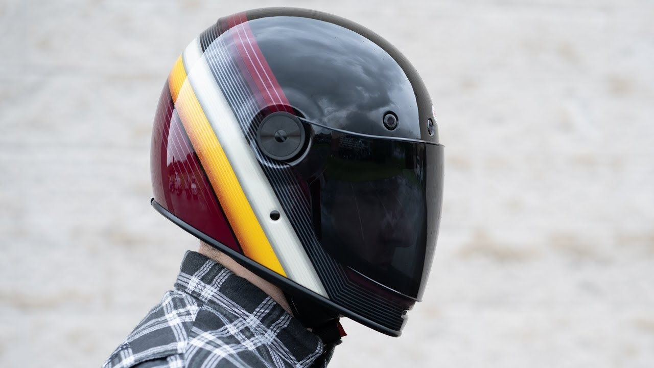 BELL Bullitt Burnout Motorcycle Helmet