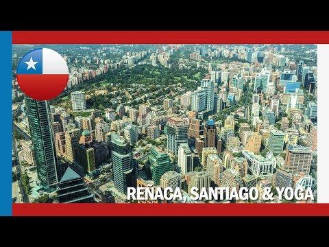 Day 12 Onwards - Reñaca, Santiago and YOGA   Chile Travel Vlog