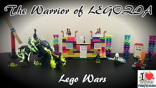 The Warrior of Legozia | Warrior King vs Dragon Master | The Lego Movie | Prakys World
