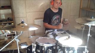 In Flames - Insipid 2000 Drum cover!! REMAKE  [TheAmagaaad]