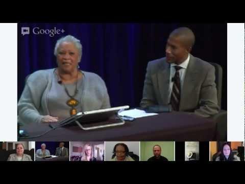 Google Play Presents: Toni Morrison Digital Book Signing