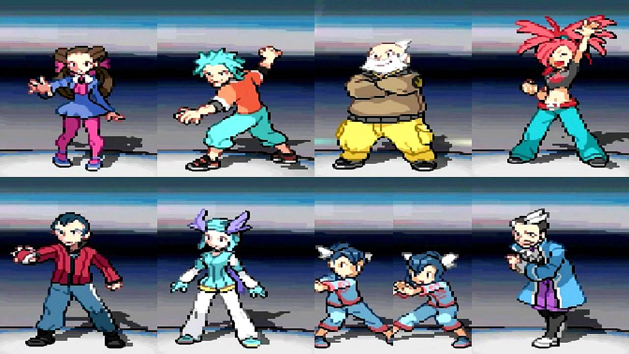 Pokemon Black And White Gym Leaders Porn - Adult Videos-9348