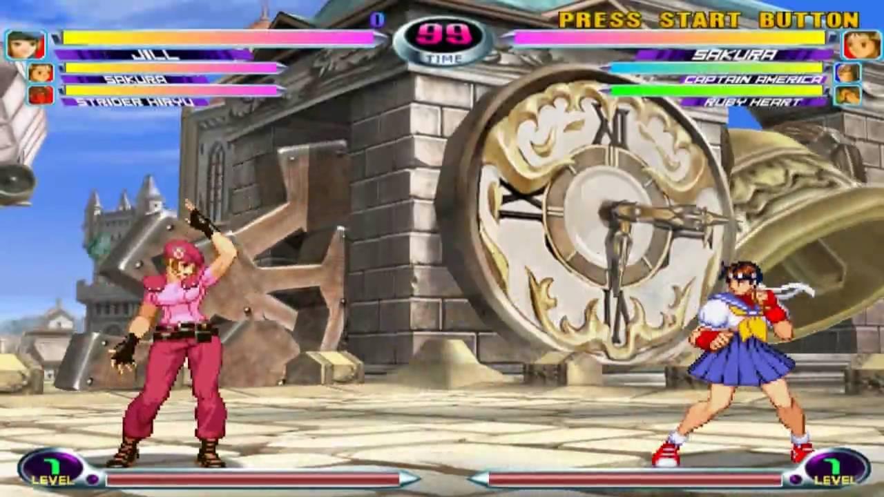 Marvel vs Capcom 2: New Age of Heroes on PCSX2 Playstation 2 Emulator 720p  HD | Full Speed