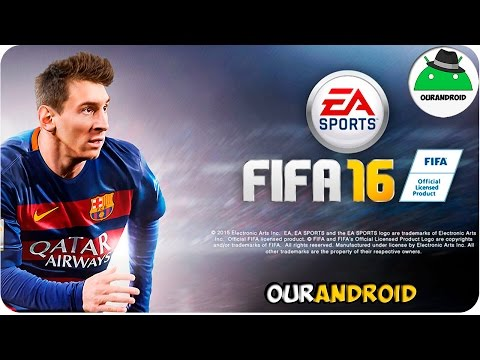 FIFA 2016 Ultimate Team Para Android [APK + DATOS SD ] MEGA  Mejor Juego De Futbol para Android