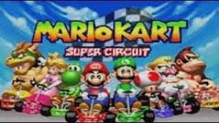Mario kart super circuit #gba #ipega