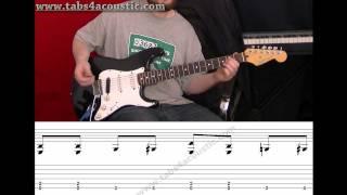 Cours de guitare : apprendre le blues pour les débutants - Partie 3