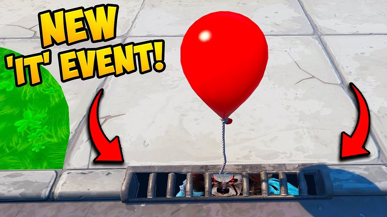 *NEW EVENT* PENNYWISE IS HERE!! - – Fortnite Funny Fails and WTF Moments! #670 thumbnail