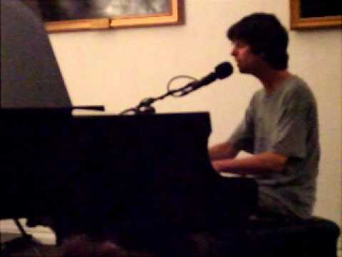 """Euros Childs at the Lit & Phil, Newcastle, performing """"Patio Song"""""""