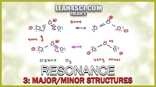 Major and Minor Resonance Contributors Orgo Tutorial by Leah Fisch (Vid 3/4) thumbnail