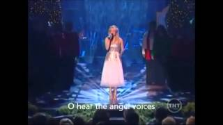 Carrie Underwood - O Holy Night Live with Subtitles