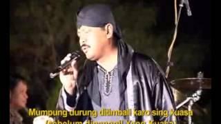 RUMONGSO DOSA bugie & bq band @ lagu qasidah