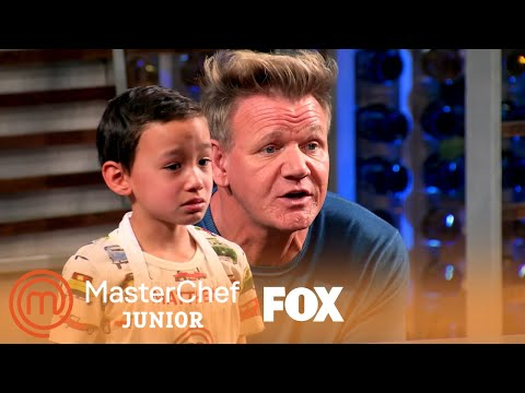 Gordon Motivates Matthew To Get His Team Together | Season 7 Ep. 11 | MASTERCHEF JUNIOR