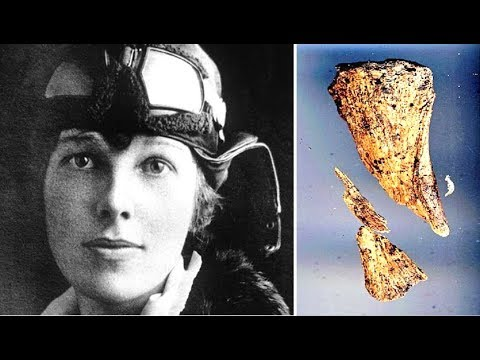 "Scientist ""99 Percent"" Sure Bones Found Belong To Amelia Earhart"