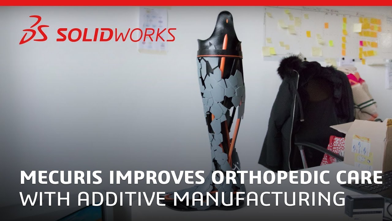 A Step Closer to You: Mecuris Improves Orthopedic Care with Additive Manufacturing - SOLIDWORKS