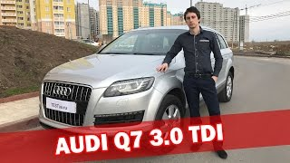 Видео обзор AUDI Q7 3 0 tdi 2010