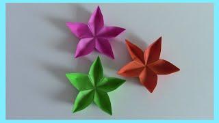 Fiori di carta Origami || Mami Crea