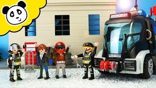 Download Video Playmobil Polizei - SEK Einsatz im Verbrecher Hauptquartier - Playmobil Film MP3 3GP MP4