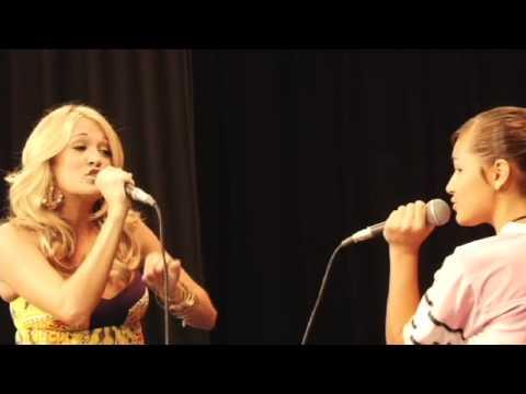 Carrie Underwood & ACM visit Checotah High School