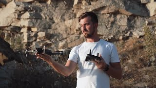 Man Getting Drone Stock Video