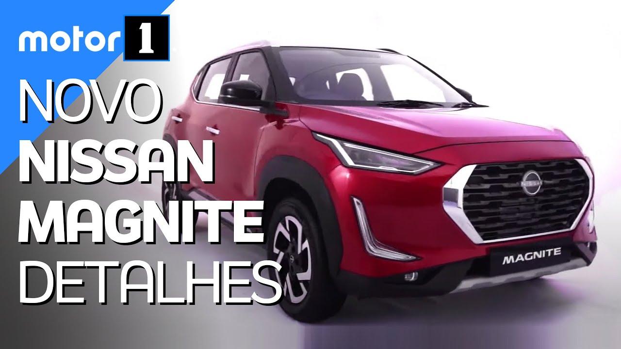 Download Oficial: Novo Nissan Magnite, futuro crossover nacional, é apresentado - Motor1.com